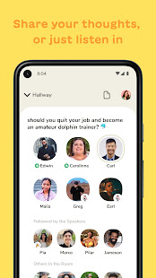 Clubhouse The Social Audio App 1.0.5 screenshots 2