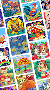 ColorPlanet Paint by Number Free Puzzle Games 1.1.16 screenshots 7