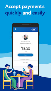 PayPal Mobile Cash Send and Request Money Fast 8.1.0 screenshots 7