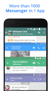 The Messenger for Messages Text Video Chat 11.1.8 screenshots 2