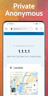 UPX Free VPN Private Browser Fast Secure Web Proxy 87.0.4280.141 screenshots 1