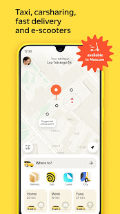 Yandex Go taxi and delivery 4.50.0 screenshots 1