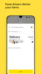 Yandex Go taxi and delivery 4.50.0 screenshots 3