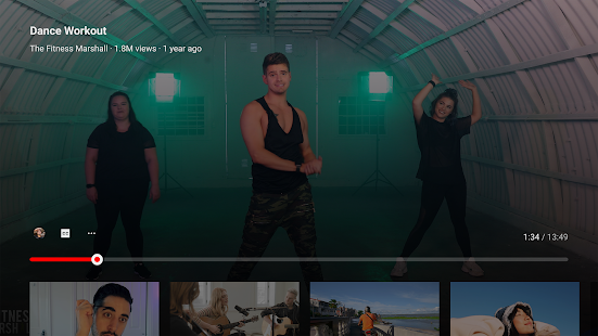 YouTube for Android TV 2.13.08 screenshots 4
